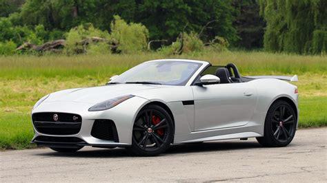 Jaguar F Type S Convertible by 2017 Jaguar F Type Svr Convertible Review Why It S Better