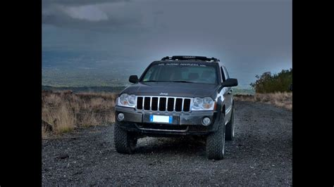 jeep grand cherokee wk lifted suspension test youtube