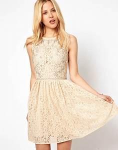 Robe Rouge Mariage Invité : robe dentelle pour invit mariage ~ Farleysfitness.com Idées de Décoration