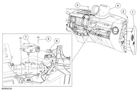 2000 Ford Duty Fuse Box Illustration by I Replaced The Right Blend Door Motor On A Dual Zone
