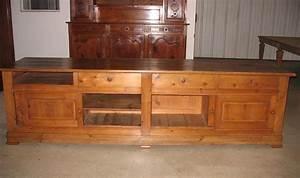 comptoir de commerce en pin xxe antiquites lecomte With comptoir des indes meubles 5 meuble de commerce en teck inde xxe antiquites lecomte