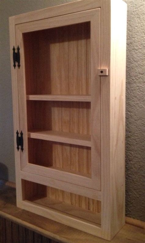 Unfinished Pine Bathroom Wall Cabinet by Wall Cabinet Bathroom Cabinet Kitchen Cabinet Shelf