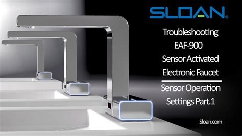 Sloan Electronic Faucet Troubleshooting