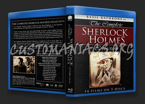 The Complete Sherlock Holmes Collection Blu-ray Cover