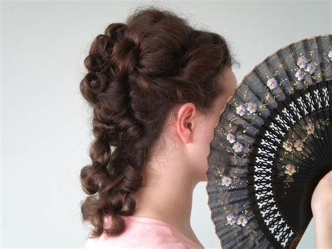 curly late victorian victorian hairstyles
