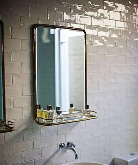 Brass Bathroom Mirror by The Simple Of Vintage Metal Mirrors Brass
