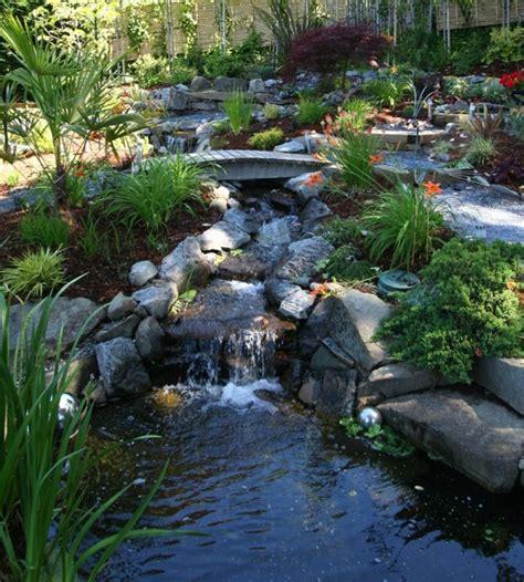 แบบน้ำตกจำลองสำหรับจัดสวนในบ้าน - babbaan.in