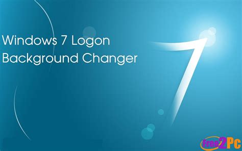 Background Changer Windows 7 Logon Background Changer Free Is