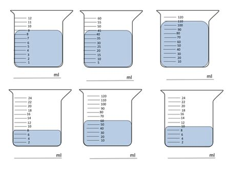 pleasant worksheets volume and capacity about capacity