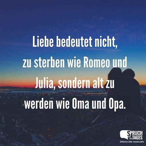liebe bedeutet nicht zu sterben wie romeo und