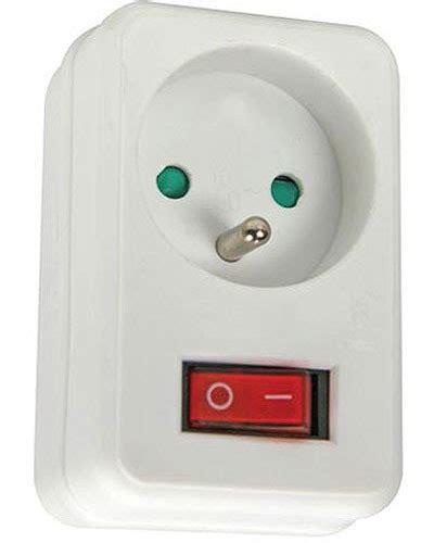 prise et interrupteur prise avec interrupteur
