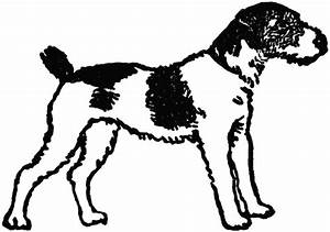 Black Spotted Dog | ClipArt ETC