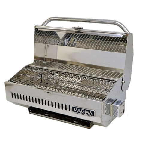 Boat Grill Propane Tank by Rinker 250935 Magma Stainless Steel 18 Inch Boat Portable