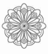 Fibonacci Coloring Mandala Patterns Spiral Printable Pattern Sg Getdrawings Embroidery Mandalas Drawing Getcolorings Visitar Para sketch template
