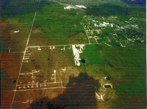 jarrell tornado aerial path texas 1997 creek double stormstalker discoloration ground road grass devastating clearly seen note air scoured third