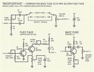 Effects Pedals  The Bazz Fuzz Face