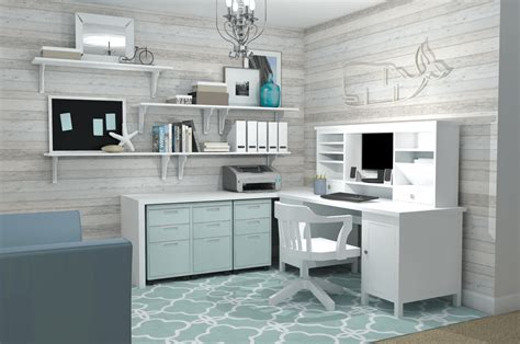 Home Office With Ikea Feminine Home Office Ikea Office Ideas A Space To Call