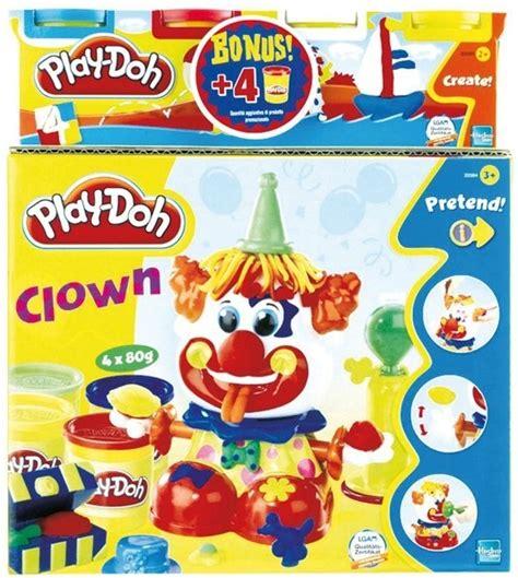 pte modeler jouet play doh coffret clown play doh play doh avec 4 pots de pte