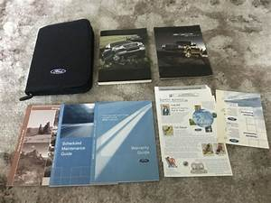 2005 Ford F150 Owners Manual With Case Oem Free Shipping