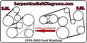 Ford Windstar 3 8 Liter Replace Serpentine Belt
