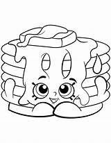 Coloring Pages Shopkin Pancake Shopkins Pamela Season Printable Print Ice Cream Corn Cartoon Dolls Waffle Colouring Sheets Drawing Jam Poppy sketch template