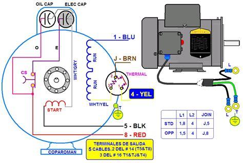 como conectar un capacitor electrico con motor coparoman diagramas de motores el 233 ctricos