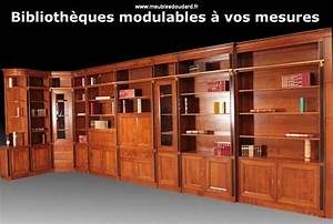 Meuble Bibliothèque Bois : agencement meuble biblioth que en bois biblioth que d 39 angle en bois massif sur mesure ~ Teatrodelosmanantiales.com Idées de Décoration