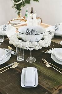 Table De Fete Decoration Noel : d co table no l originale et l gante pour une f te ~ Zukunftsfamilie.com Idées de Décoration