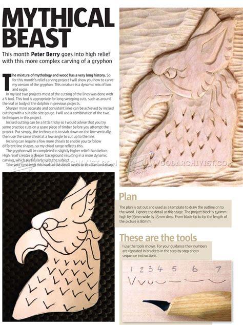 relief carving techniques woodarchivist