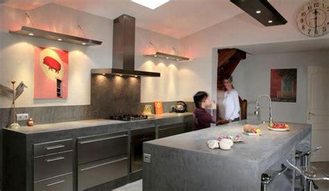 cuisine industrielle inox l 39 esprit indus 39 dans la cuisine inspiration cuisine