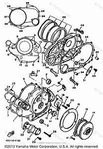 Yamaha Motorcycle 1985 Oem Parts Diagram For Crankcase