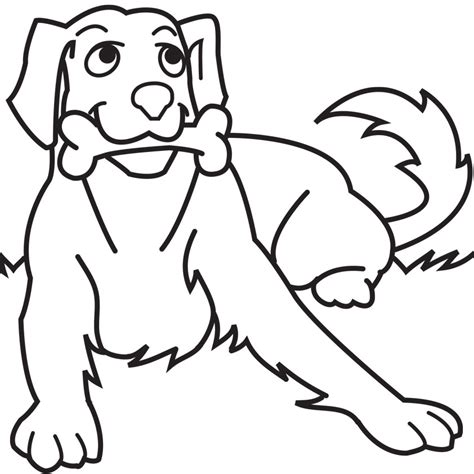 cute dog coloring pages free printable pictures coloring
