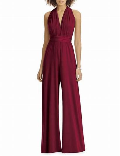 Jumper Jumpsuit Bridesmaid Convertible Infinity Dressandcharm Dresses