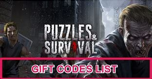 puzzles  survival codes  gift codesdecember