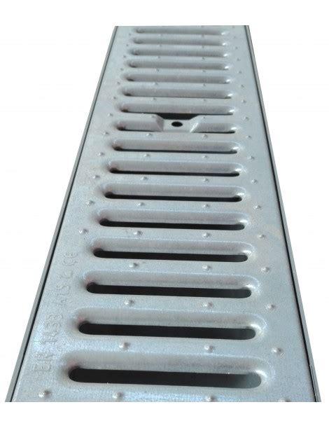 drainage channel galvanized grid  cm centro edile