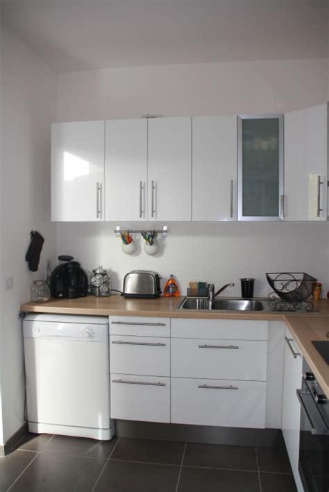 cuisine blanche en bois cuisine blanche bois et inox photo 3 6 3509191