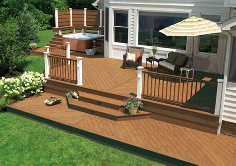 Backyard Deck Plans - decks and railings new jersey contractors m m