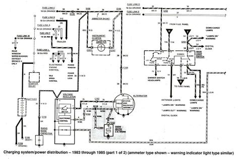 1989 Ford Ranger Starter Wiring Diagram by Ford Ranger Wiring By Color 1983 1991