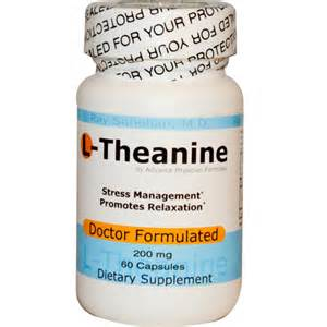 theanine supplement benefits for stress anxiety sleep