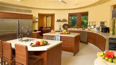 half moon kitchen island luxurious beachfront estate in punta mita shape punta 4111