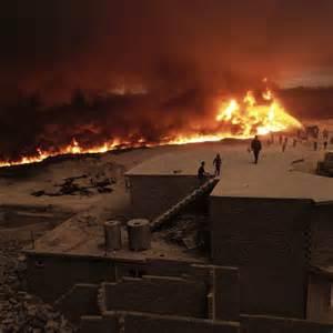 Mosul  Drone Vision Shows  U0026 39 Smoke