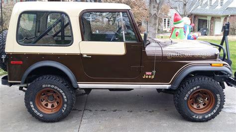 jeep golden eagle interior 1979 original jeep cj7 golden eagle 304 v8 4 speed levi