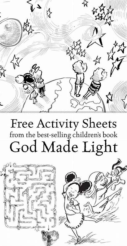 God Activity Sheets Children Activities Printable Pages