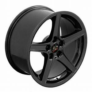 Black Rims Fit Ford Mustang 18x9 SET -TexasMustang.com