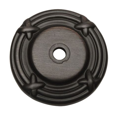 cabinet knob backplates oil rubbed bronze cosmas oil rubbed bronze 9468orb cabinet knob backplate