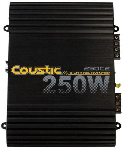 Coustic Watt Channel Class Amplifier