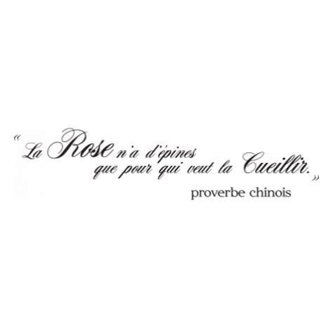 stickers ardoise pour cuisine stickers proverbe chinois stickers malin