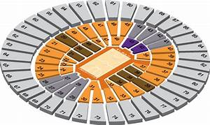 32 Frank Erwin Center Seating Diagram