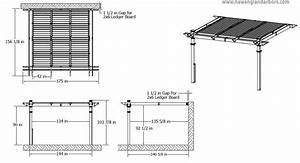Amazon Com  Elysium 12 U0026 39  X 12  U0026 39 Attached Louvered Pergola