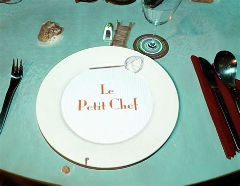 le petit chef cuisine bringing visual mapping to the restaurant table with le petit chef visual system solutions